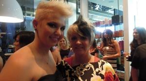 Alexandra et sa mère