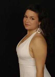 la soprano Lili Lorenzana-Bilodeau