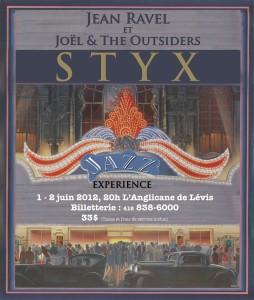 Le spectacle STYX JAZZ EXPÉRIENCE