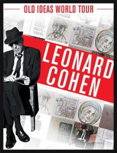 Leonard Cohen - 29 nov. - billets en vente le 2 juin