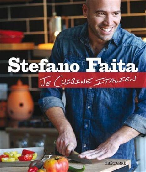 Couverture du livre Je cuisine italien de Stefano Faita