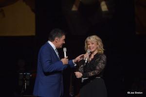 Mario Pelchat et Martine St-Clair