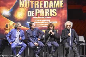 Paul Dupont Hébert, CharlesTalar, Richard Cocciante, et Luc Plamondon.