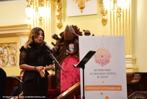 Leila Gouchi, chanteuse maroco-canadienne
