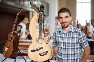 Le guitariste Michel Pellerin