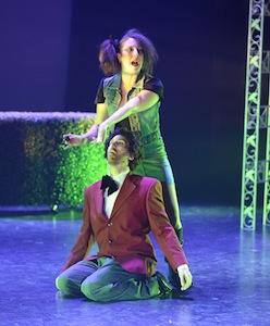 Tommy Chouinard (Jasmin) et Marie-Michèle Rivest (Zita)
