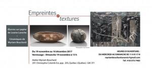exposition de Louise Laroche et Myriam Bouchard