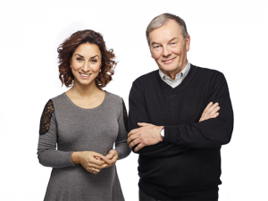 Taïna Lavoie et Denis Angers