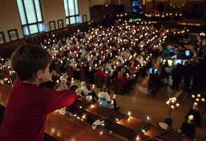 Concert «Noël aux chandelles» à la Chapelle Loyola